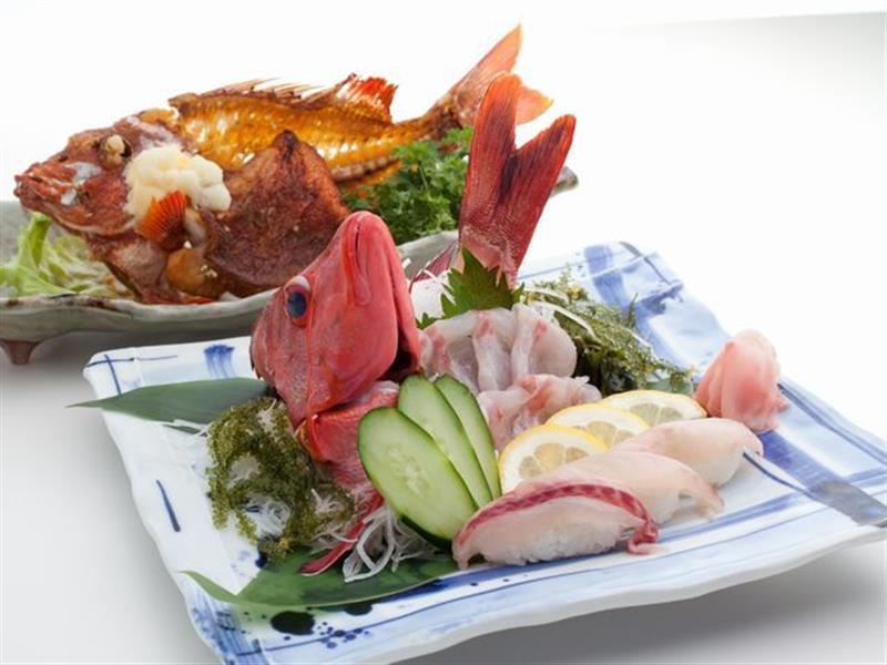 新鮮な魚をお好みの調理法で