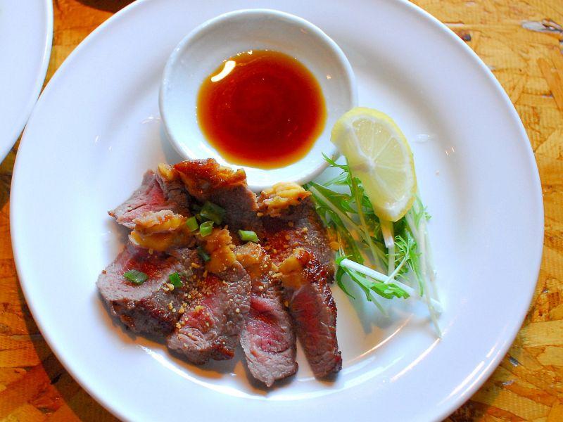 肉好きには「牛ロース スタミナステーキ」