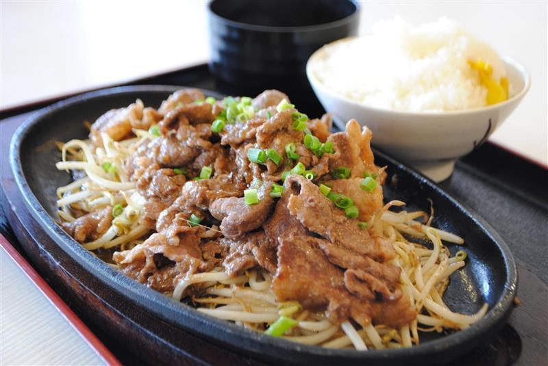 焼き肉定食¥680