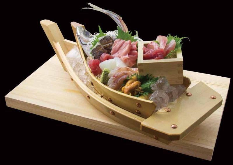 鮮魚の刺身7点盛