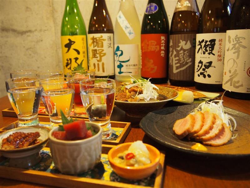 日本酒に合う炙りもん・干物・海鮮!