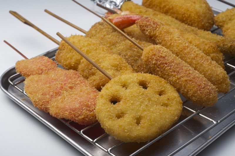 大阪伝統の味串カツ