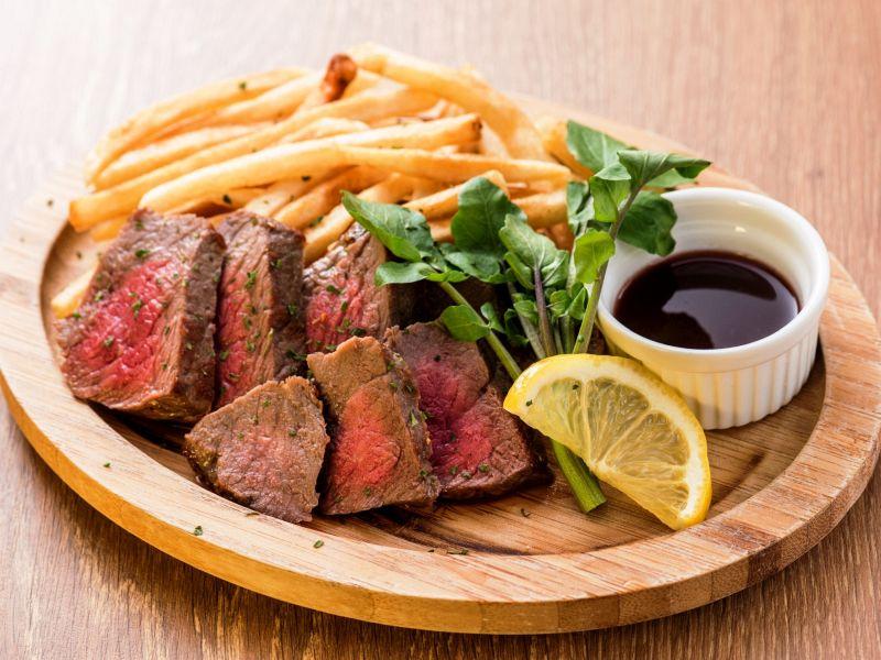 豪州産穀物牛のランプステーキ