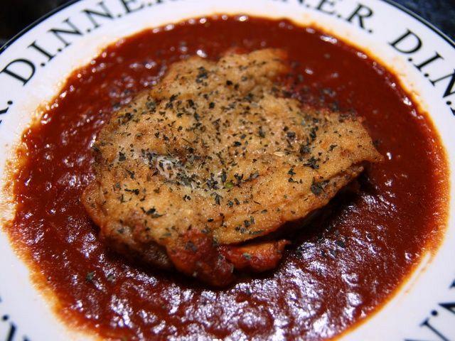 チキンのトマトソース煮
