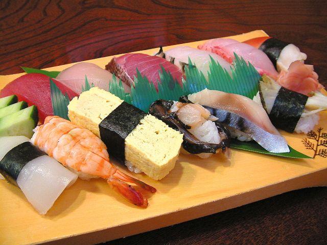新鮮さが自慢のお寿司