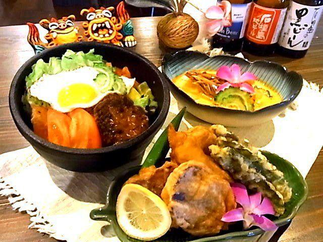 石垣島の食材を使ったメニューもいろいろ~