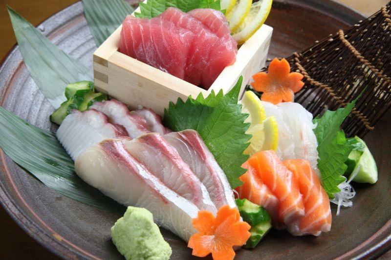 本日の鮮魚刺身 五点盛り合わせ