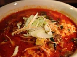 野菜たっぷり&やわらかお肉のピリ辛スープ