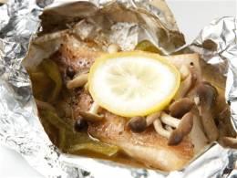 さっぱり味のお魚のホイル焼き