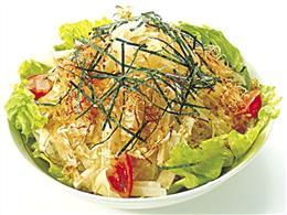 ボリュームに満足! 大根サラダ