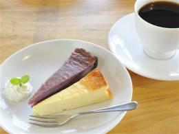 コーヒー or 紅茶付きのケーキセット