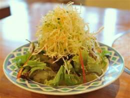たっぷり野菜のチョレギサラダ