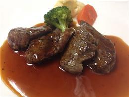 牛フィレ肉のソテー