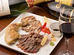 沖縄肉盛り