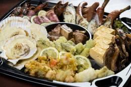沖縄で味わえる北海道魚介類の数々