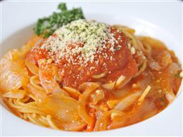 チーズたっぷり!本格トマトパスタ