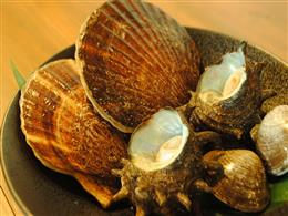 高たんぱく低糖質な貝。浜焼がおススメ!