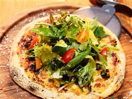 野菜たっぷりタコスピザ