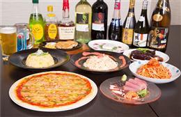 多種多様な料理とお酒が食べ飲み放題!