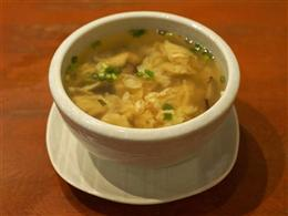ねぎ卵スープ 330円