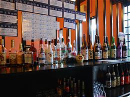 生ビールや日本酒、ワインが40種類以上の飲み放題