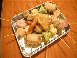 オススメの天ぷら串も食べ放題に追加!