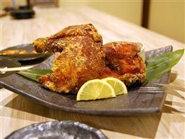 美味しさの詰まったやんばる若鶏の半身揚げ