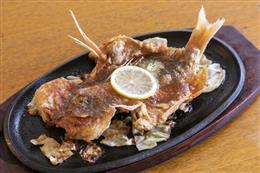 本日鮮魚一尾バター焼き