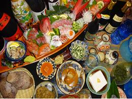 毎朝料理長がせり落としてくる新鮮な海産物