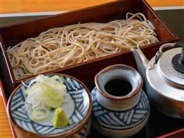創業70年の歴史を持つ「みとう庵」の蕎麦