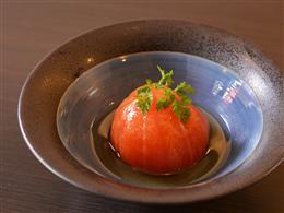 丸ごとトマトの和風ビネガー