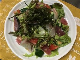 海鮮ごまポンサラダ