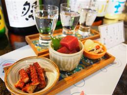 日本酒飲み比べセット1000円