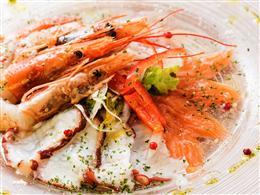 4種の鮮魚カルパッチョ