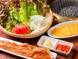 肉には新鮮な野菜が不可欠!