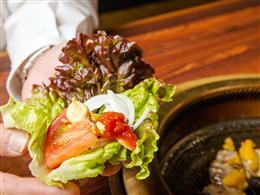 新鮮な野菜にもサルサソース!