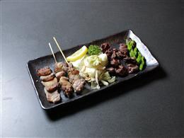 おまかせ炭火焼き6種