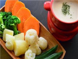 野菜がたっぷり食べられるバーニャカウダ