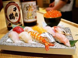 鮮度抜群!北海道直送のお寿司が1貫100円~♪