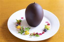 ガトーショコラinチョコドーム