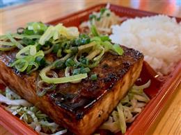 島豆腐ステーキ弁当