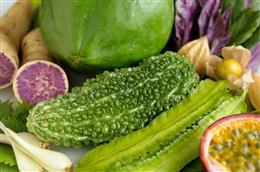 新鮮な沖縄県産野菜