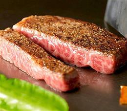 石垣牛のステーキ