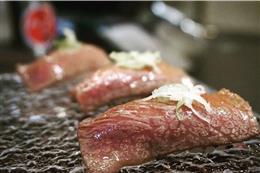 A5黒毛和牛サーロイン寿司