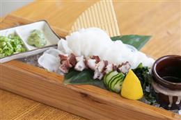 北海生水蛸と刻み山葵の壺タコワサ