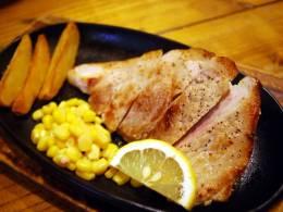 アグー豚のステーキ