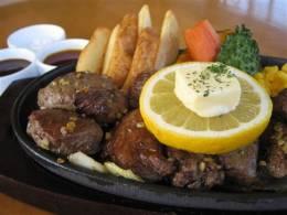 国産牛フィレカットステーキ(ボリュームたっぷり)