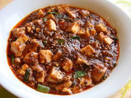 迷ったらこれを!一番人気の陳麻婆豆腐。