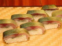肥後勝自慢の逸品!サバの「松前寿司」