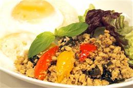タイ料理の定番!ガパオライス